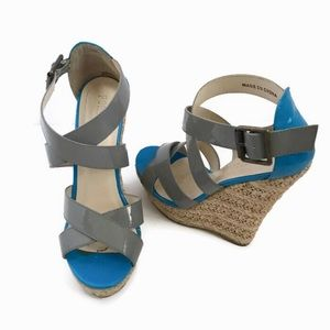 Forever 21 • Wedge Strappy Sandals Size 6